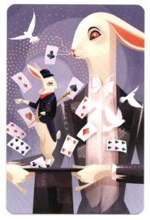 Dixit: Magic Bunny Promo Card