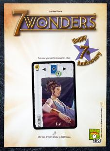 7 Wonders: 7th Anniversary card - Phryne