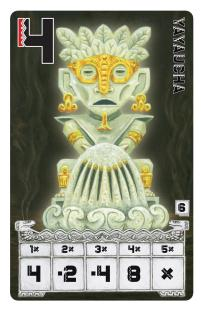 Yayaucha Homok isten kártya