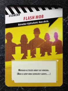 Pandemic Promo kártya - Flash Mob